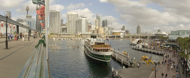 Darling Harbour panorama stock images