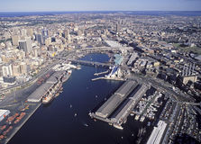 Darling Harbour Sydney Royaltyfri Fotografi