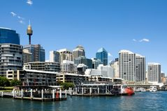 Darling Harbour, Sydney Royalty Free Stock Photo
