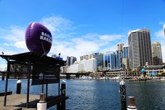Darling Harbour @ Sydney stock foto
