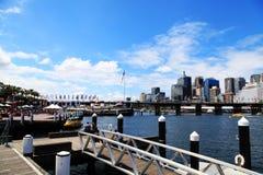 Darling Harbour @ Sydney royalty-vrije stock afbeelding