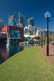 Darling harbour in sydney Royalty Free Stock Images