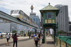 Darling Harbour, Sydney, Australië Royalty-vrije Stock Afbeelding