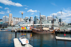 Darling Harbour in Sydney, Australia. Stock Image