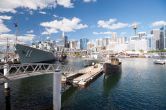 Darling Harbour in Sydney, Australia. Royalty Free Stock Photography