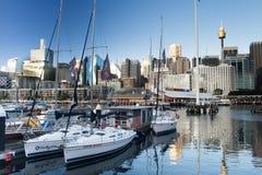 Darling Harbour Sydney Australia Stock Afbeeldingen