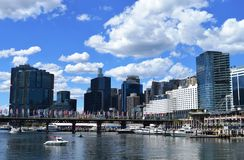 Darling Harbour, Sydney. Australia on a bright sunny day Royalty Free Stock Photo