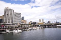 Darling Harbour in Sydney Stock Photos