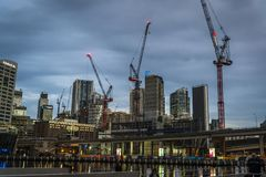 Darling Harbour, Sydney, NSW, Australia fotografie stock