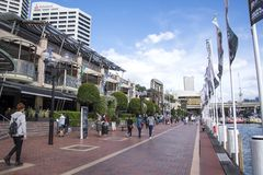 Darling Harbour in Sydney Royalty Free Stock Photos