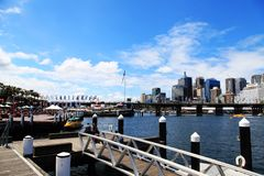 Darling Harbour @ Sydney Royalty Free Stock Image