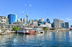 Darling Harbour in Sydney Stock Image