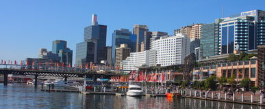 Darling Harbour view, Sydney Royalty Free Stock Photography