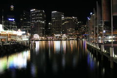 Darling Harbour Waterfront, Sydney Royalty Free Stock Images