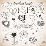 Darling hearts Royalty Free Stock Photos
