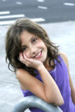 Darling Preteen Girl. Image of a beautiful preteen girl Stock Photos