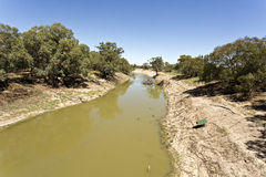 Darling River at Tilpa Stock Photos