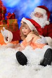 Darling santa Royalty Free Stock Photos