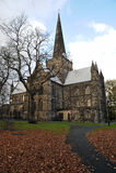 Darlington de la iglesia de los cuthberts del St Imagen de archivo libre de regalías