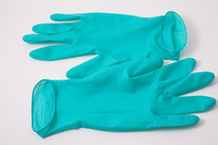darmowe rękawiczki gumowe Obraz Royalty Free
