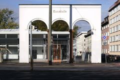 Kunsthalle Darmstadt Stock Images