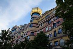 Darmstadt lasu spirala, Waldspirale zdjęcie royalty free
