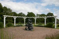 Darmstadt Rosenhohe imagem de stock royalty free
