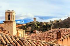 Daroca, Αραγονία, Ισπανία Στοκ Εικόνες