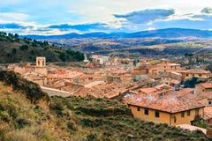 Daroca, Aragón, España Fotos de archivo libres de regalías