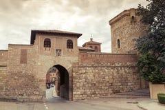 Daroca. Door of the town of Daroca. Spain Royalty Free Stock Photography