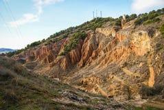 Daroca, mittelalterliche Stadt, Teruel, Aragonien, Spanien Lizenzfreies Stockfoto