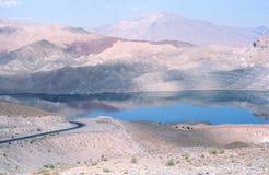 Daronta水坝。 免版税库存照片