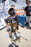 DARPA Robotics Challenge THOR Team with Robot Royalty Free Stock Photos