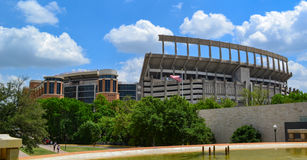 Darrell K kungliga Texas Memorial Stadium University av Texas Longhorns Royaltyfri Fotografi