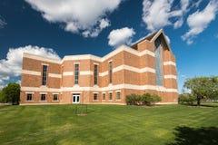 Darrell w Библиотека Krueger на государственном университете Winona Стоковые Фотографии RF