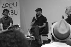 Darren Aronofsky in Armenien lizenzfreie stockfotografie