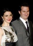 Darren Aronofsky und Rachel Weisz lizenzfreies stockfoto