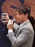 Darren Criss Hosts 2015 étoiles dans l'allée Photographie stock