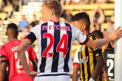 Darren Fletcher, δύση Bromwich Albion στοκ φωτογραφίες με δικαίωμα ελεύθερης χρήσης