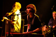Darren Hayman & the Trial Separation (band) performs at Heineken Primavera Sound 2014 Stock Photography