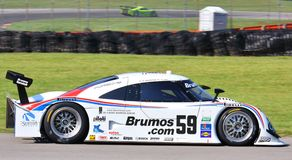 Darren Law. Races the Porsche Riley for the Brumos Racing team at the professional motorsports racing event, International Motor Sports Association, Sports car Stock Photography