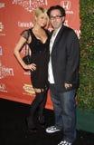 Darren Lynn Bousman, Paris Hilton Royalty Free Stock Image