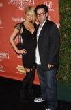 Darren Lynn Bousman, Paris Hilton Stock Image