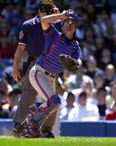 Darrin Fletcher. Toronto Blue Jays catcher Darrin Fletcher, #9. (Image taken from color slide Stock Photography