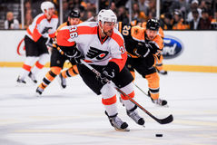 Darroll Powe Philadelphia Flyers Royalty Free Stock Images