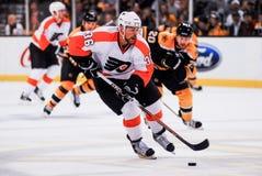 Darroll Powe Philadelphia Flyers Royalty Free Stock Images