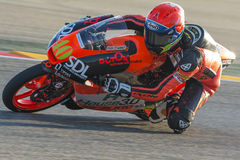 Darryn segregator Moto3 Uroczysty Prix Movistar Aragà ³ n Obrazy Stock