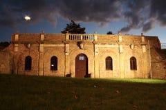 Darsena Borghese in Fano - Italië royalty-vrije stock afbeelding