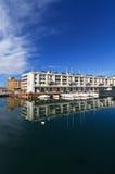Darsena - Dock in Genua, Italien stockfotografie