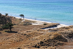 Darsser Ort at Baltic sea beach on Darss peninsula Stock Photo